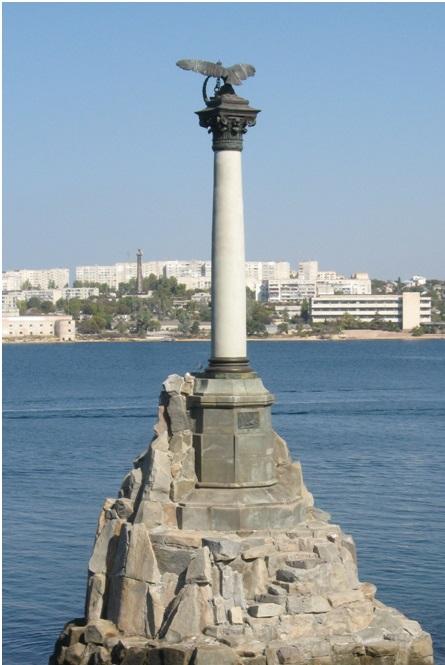 Колонна с Орлом в Севастополе